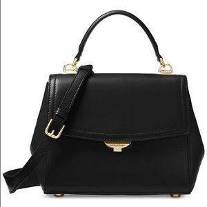 MICHAEL KORS Ava Leather Satchel With Dust Bag